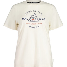 Maloja AlpendostM. SS T-shirt Damer, hvid
